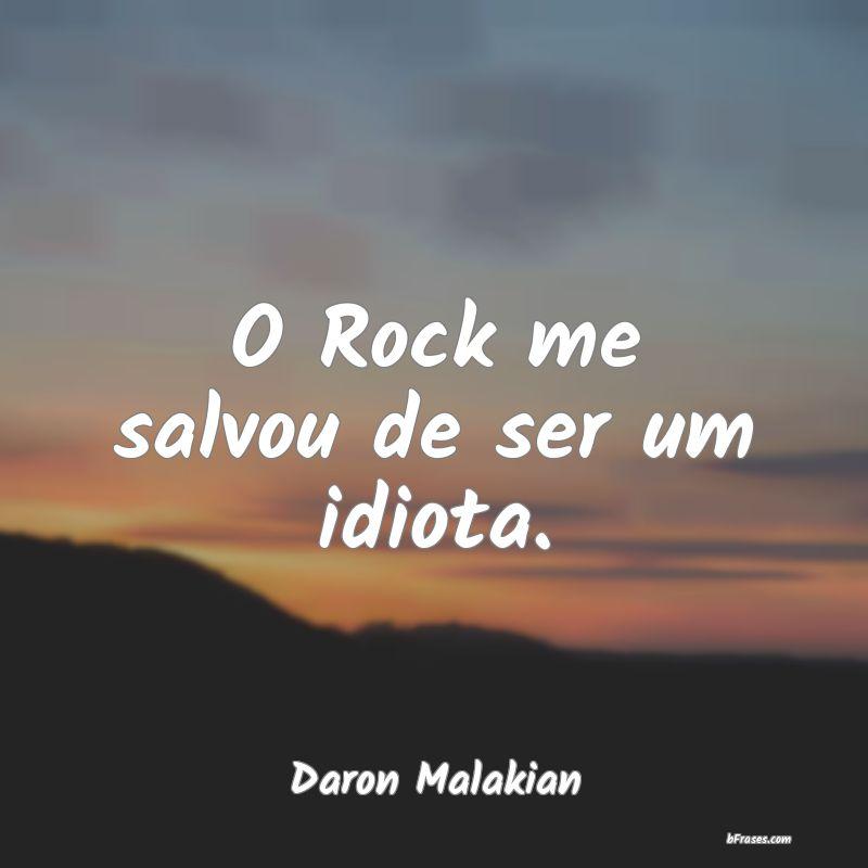 O Rock Me Salvou De Ser Um Idiota Daron Malakian