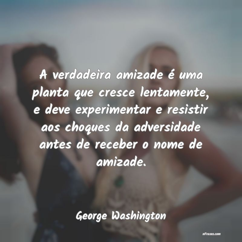 Frases de George Washington